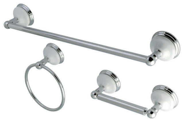 Florentine Satin Nickel Bathroom Hardware Towel Bar Tissue Holder Towel Ring