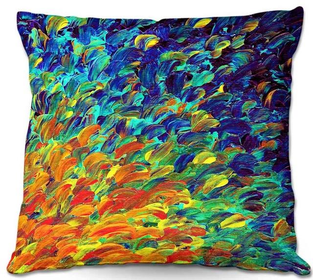 Dianoche Throw Pillows Julia Di Sano - Follow The Current.