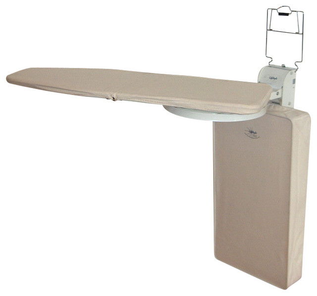 Lifestyle Wall Mounted Ironing Board, Vertical.