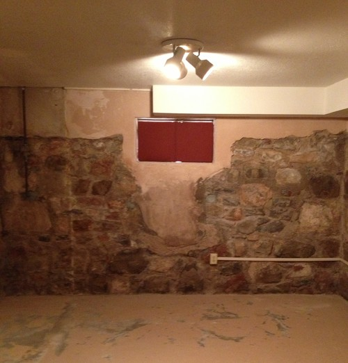 Superb Sealing Exposed Rock In Basement