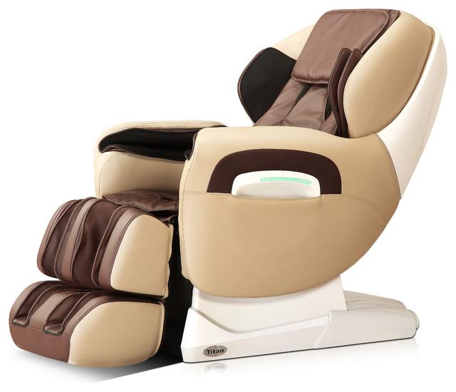 Titan Advanced Massage Chair, Cream by Titan Chair LLC