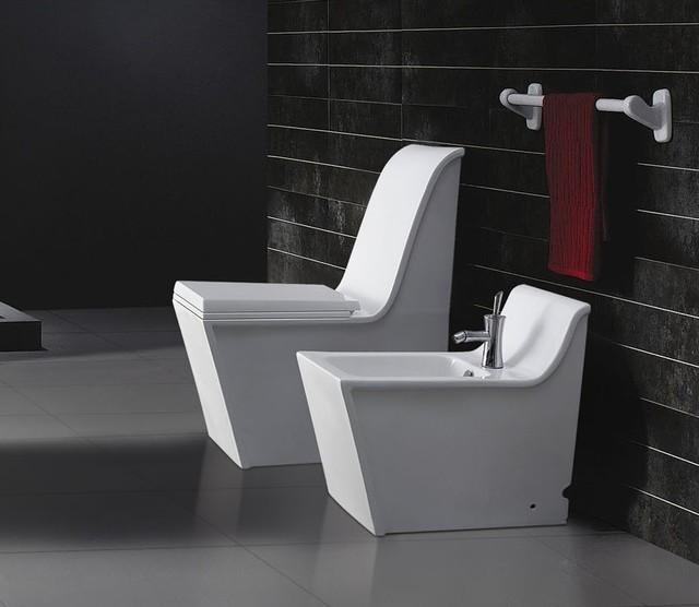 Cusio Modern Bathroom Toilet - Modern-bathroom-toilet