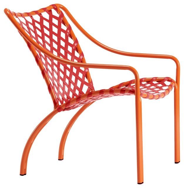 Shop houzz brown jordan tamiami lounge chair vinyl lace for Brown jordan tamiami chaise