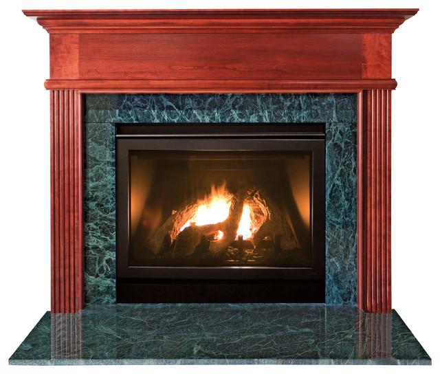 "Kensington Mdf Primed White Fireplace Mantel Surround, 42""."