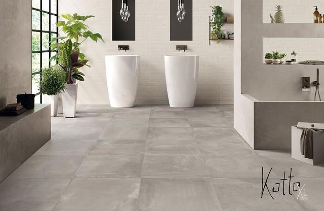 parete cucina senza piastrelle rivestimenti per bagno e cucina serie cementine