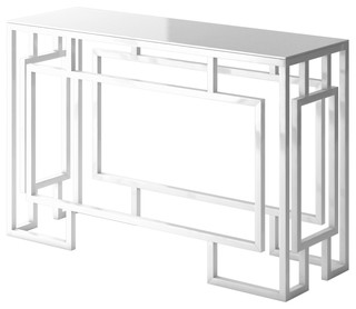 Alice Modern Console Table With Frame Modern Console Tables by Designer Modern Home