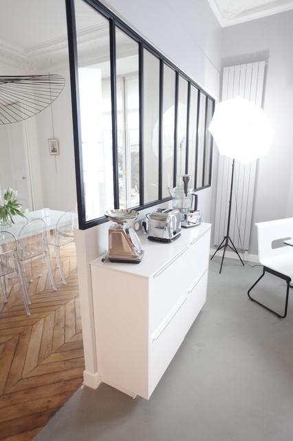 12 sqm2 kitchen paris 17th district for Cuisine moderne 12m2