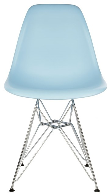 DSR Light Blue Mid Century Modern Dining Shell Chair  : midcentury outdoor dining chairs from www.houzz.com size 364 x 640 jpeg 24kB