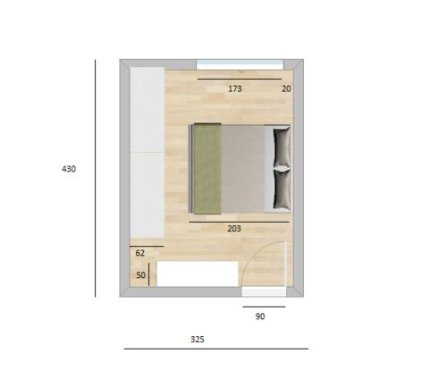 disposizione camera da letto - Disposizione Mobili Camera Da Letto