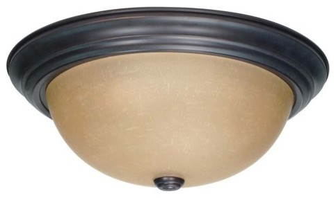 Nuvo Lighting 60/1257 3 Light Down Lighting Flush Mount Ceiling Fixture.