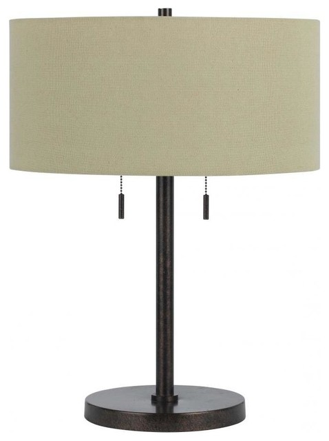 60w Calais Metal Table Lamp.