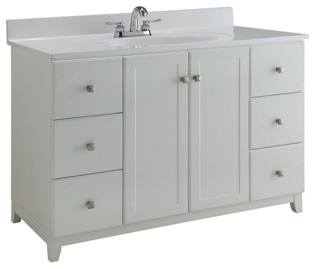 50 75 Furniture Style Vanity Cabinet Espresso Transitional Bathroom Vanities And Sink Consoles By 1stoplighting