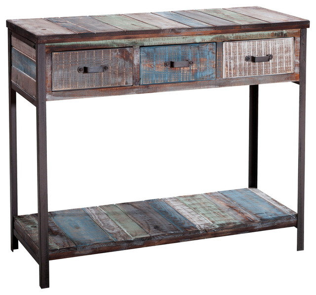 Brooker Console Table, Beach.