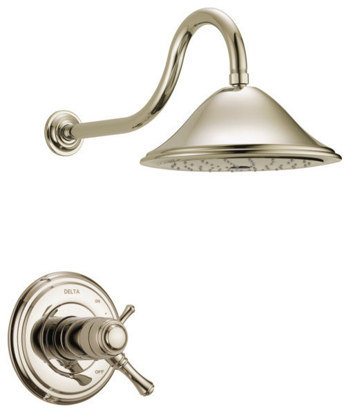 Delta Cassidy TempAssure 17T Series Shower Trim, Polished Nickel, T17T297-PN
