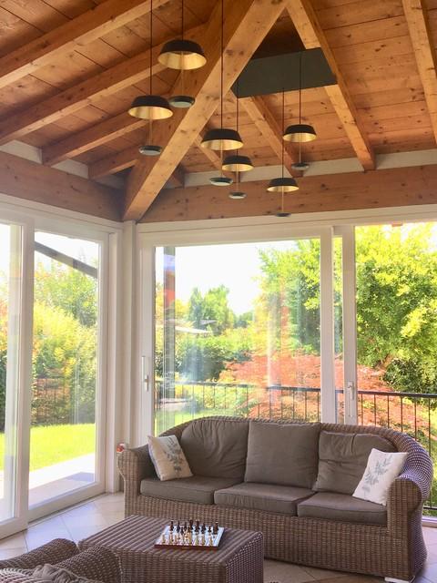 Immagine di una veranda minimal
