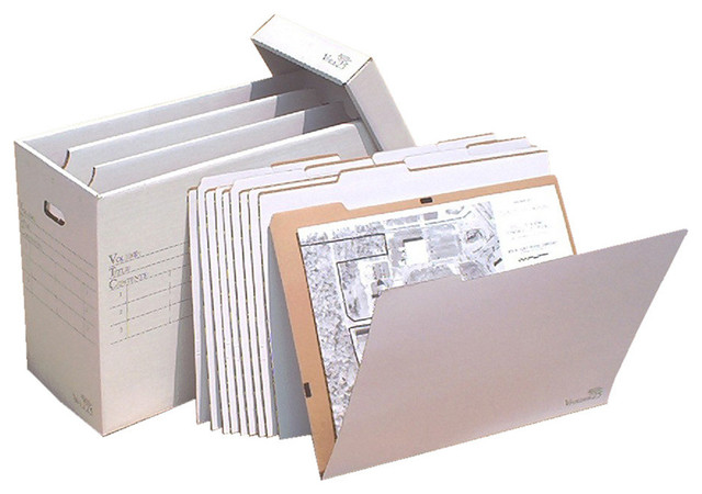 "Aos Vertical Flat Storage With 10 Vfolder&x27;s For Up To 18""x24"" Documents."