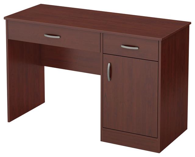 South Shore Axess Small Desk, Royal Cherry.