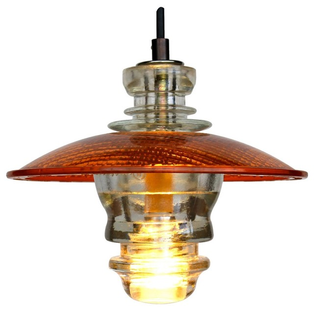 Insulator LED Pendant Lantern Industrial Pendant Lighting By - Led pendant lights for kitchen island