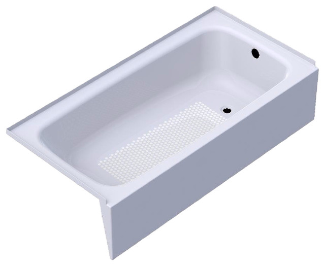 Kaldewei 155, Right Hand 60 X 30 Cayono Bathtub, White