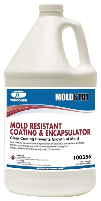 Moldstat Mold Resistant Coating And Encapsulator Gal Contemporary Household Cleaning Products By Amplified E