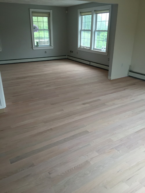 Pickled Oak Hardwood Flooring Carpet Vidalondon