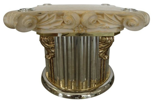 Corinthian Column Capital Table Base