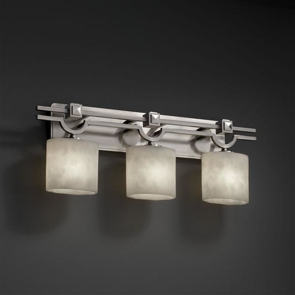 Justice Design Cld 8503 30 Nckl Cloudscollection Argyle 3 Light Bath Bar