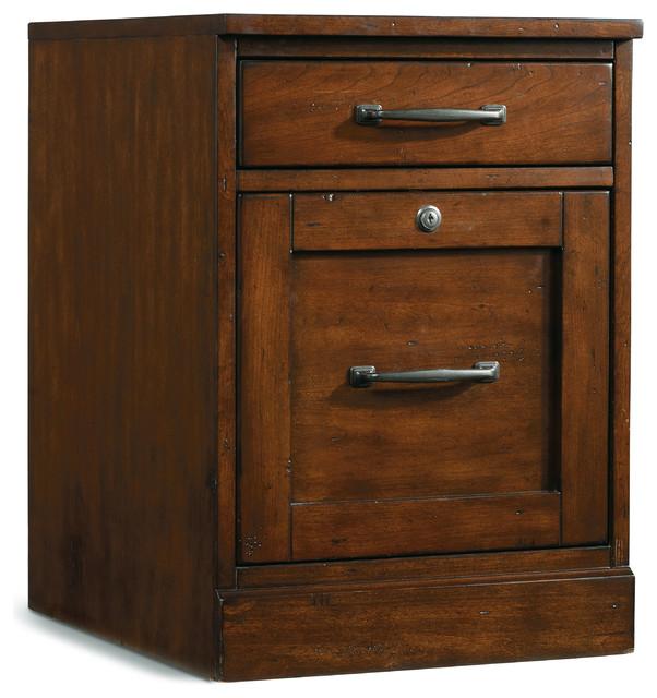 Wendover Mobile File - Transitional - Filing Cabinets - by Hooker Furniture