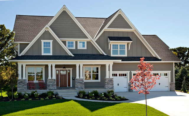 2014 spring parade of homes traditional exterior - Popular exterior paint colors 2014 ...