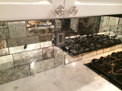 Where Can I But This Antique Mirrored Subway Tile