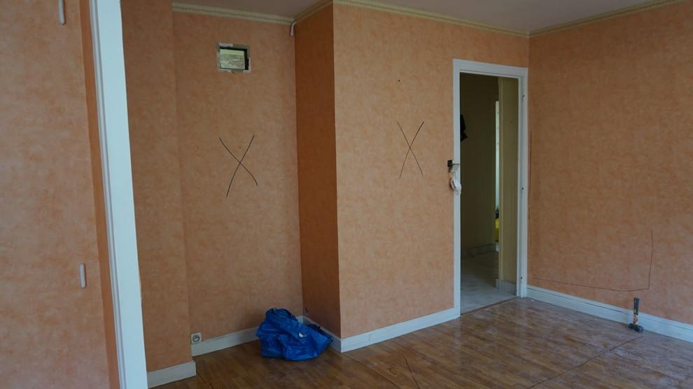Rénovation d'un 3 pièces de 70 m2 , en coloc d'étudiants