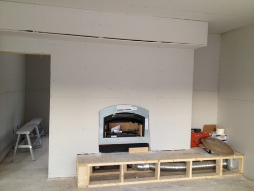 Need ideas for finishing this fireplace
