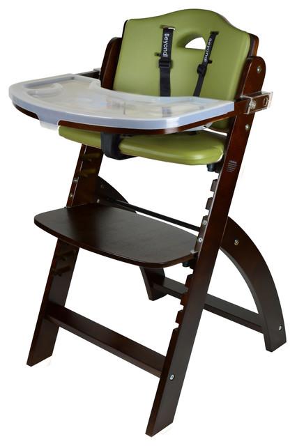 Beyond Junior Wooden Highchair Contemporary High
