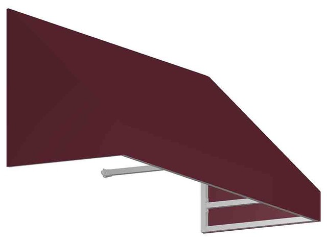 4&x27; New Yorker Window/entry Awning, Burgundy.