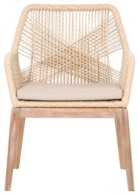 Loom Armchairs, Set of 2, Sand