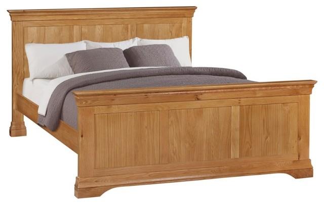Durant Oak Bed, Uk King