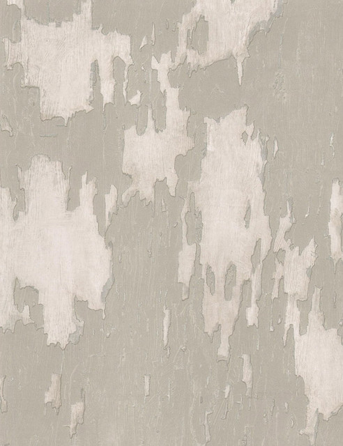 Distressed Plaster Industrial Loft Wallpaper