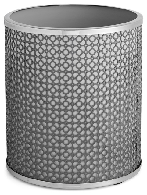 Paradigm trends links wastebasket view in your room houzz - Modern wastebasket ...