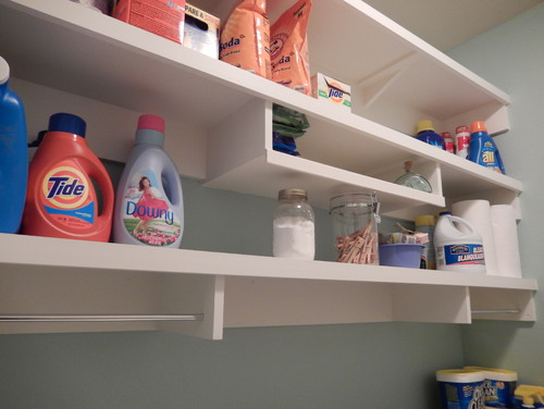 Reader Laundry Room 6: More Storage for $115 in Texas