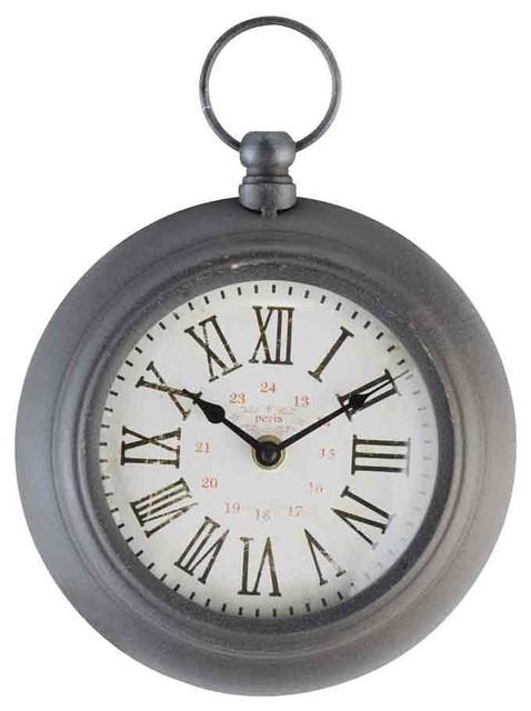 EMDE Ring Wall Clock, Mocha Grey