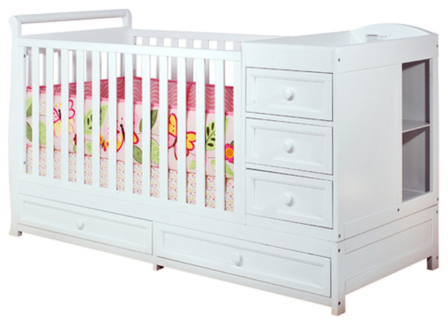 Afg Baby Daphne 3 In 1 Crib And Changer Combo