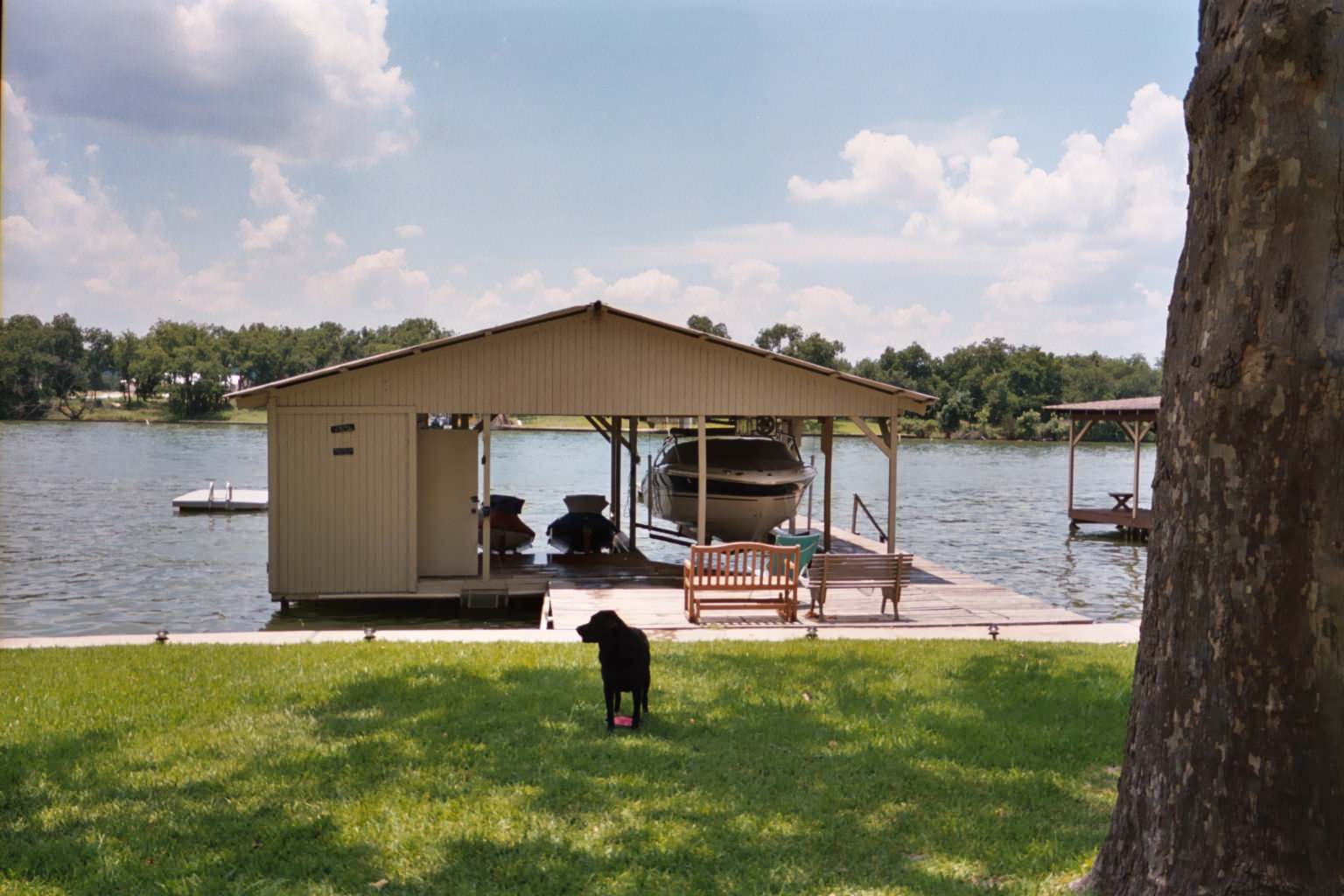 Boat Dock before