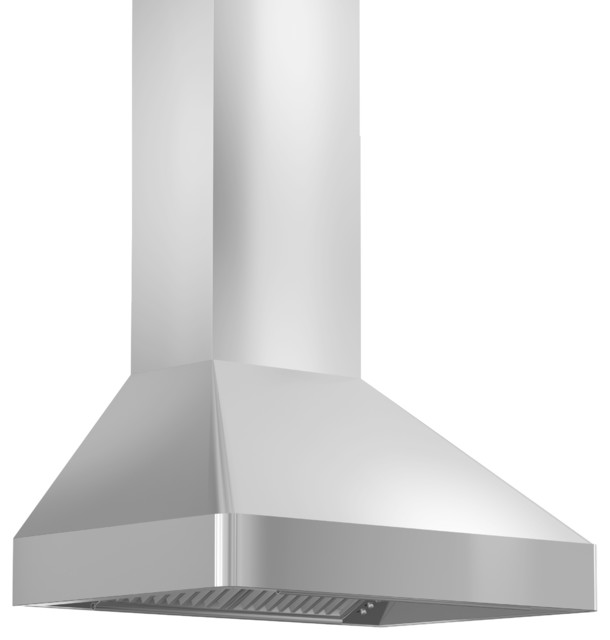 "Zline 9597-36 Stainless Steel Professional Series Wall Range Hood, 36""."