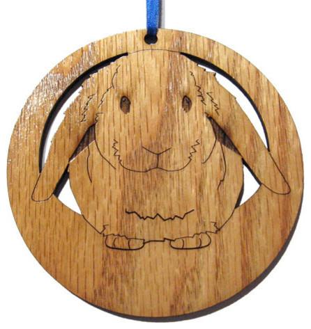 Lop Eared Rabbit Ornament