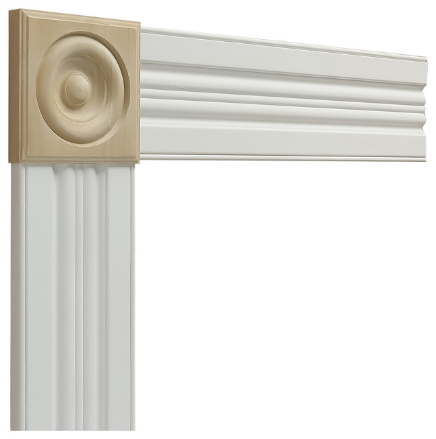 Traditional Light Rail Molding: Metrie - Traditional Door Trim Package #180 & Reviews