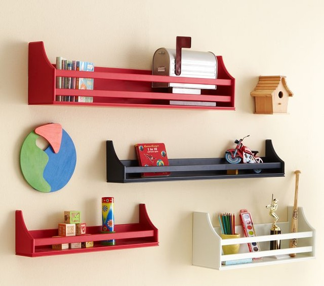 Collector's Shelves - Contemporary - Display And Wall ...