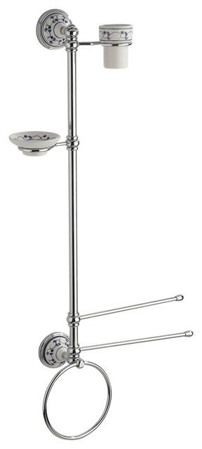 amalfi wall-mounted accessory stand - mediterranean - bathroom ... - Sodim Arredo Bagno