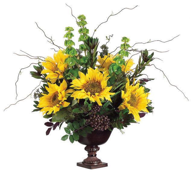 Silk plants direct protea sunflower and bell of ireland pack of 1 silk plants direct protea sunflower and bell of ireland pack of 1 mightylinksfo