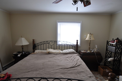 Need Help With Off Center Window Behind Bed