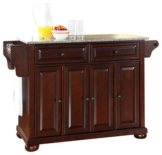 Crosley Furniture Alexandria Solid Granite Top Kitchen Island - Isole e carrelli da cucina - di ...